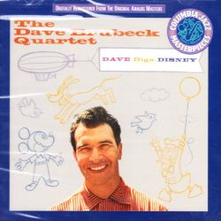 BRUBECK, DAVE QUARTET - DAVE DIGS DISNEY (1 CD) - WYDANIE AMERYKAŃSKIE886972417127
