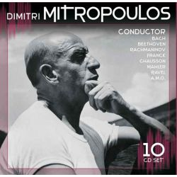 BACH/ BEETHOVEN/ RACHMANINOV - MITROPOULOUS, DIMITRI - CONDUCTOR (10CD)