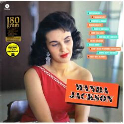 JACKSON, WANDA - WANDA JACKSON (1 LP) - WAX TIME EDITION - 180 GRAM PRESSING