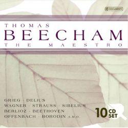 GRIEG/ DELIUS/ WAGNER/ STRAUSS/ SIBELIUS/ BERLIOZ A.M.O - BEECHAM, THOMAS THE MAESTRO (10CD)