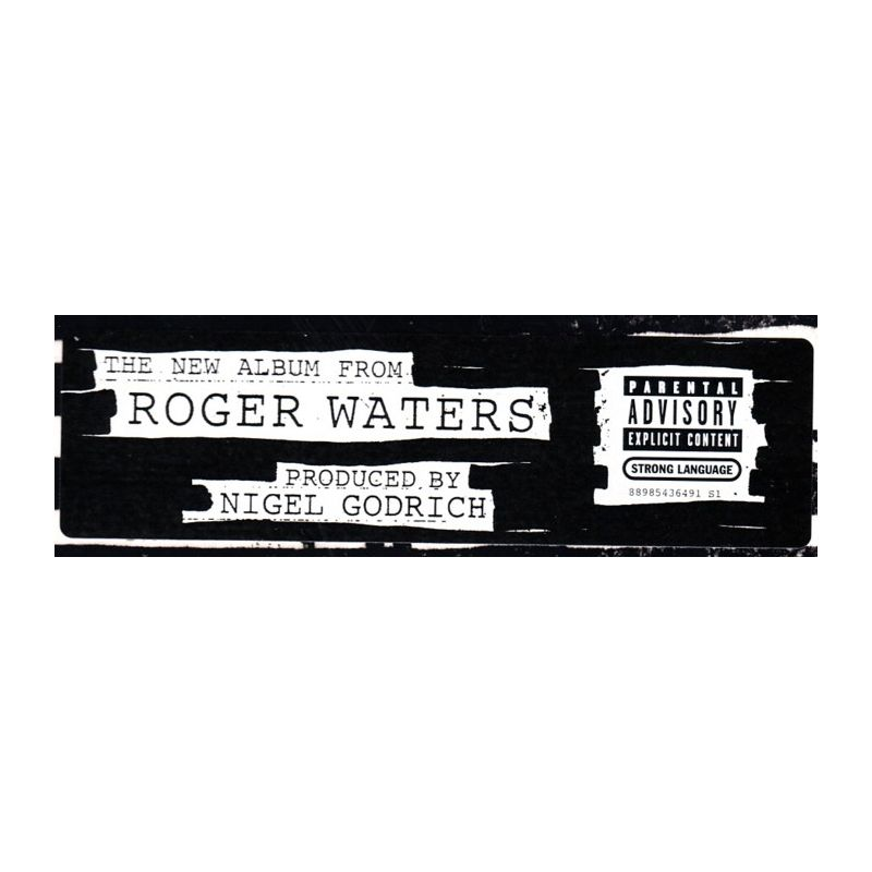 Waters Roger Is This The Life We Really Want 2 Lp