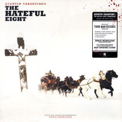 HATEFUL 8, THE / AKA. H8FUL EIGHT, THE (NIENAWISTNA ÓSEMKA) - ENNIO MORRICONE (2LP)