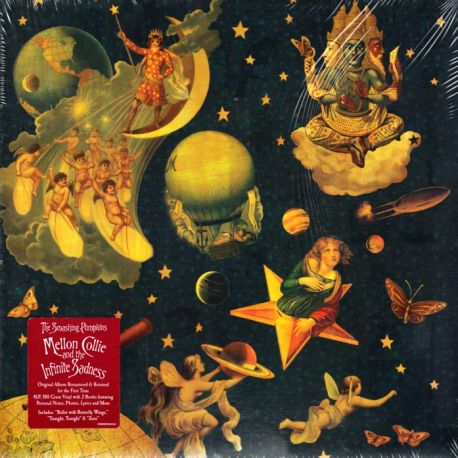 SMASHING PUMPKINS, THE - MELLON COLLIE AND THE INFINITE SADNESS (4 LP) - 180 GRAM PRESSING - WYDANIE AMERYKAŃSKIE