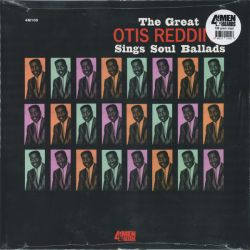 REDDING OTIS - THE GREAT OTIS REDDING SINGS SOUL BALLADS (1 LP) - 180 GRAM PRESSING - WYDANIE AMERYKAŃSKIE