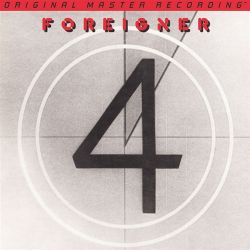 FOREIGNER - 4 (1 LP) - MFSL 180 GRAM PRESSING - WYDANIE AMERYKAŃSKIE