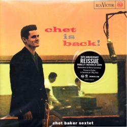 BAKER, CHET SEXTET - CHET IS BACK! (2 LP) - 45RPM 180 GRAM PRESSING - WYDANIE AMERYKAŃSKIE