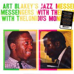 BLAKEY, ART - ART BLAKEY'S JAZZ MESSENGERS WITH THELONIOUS MONK - 180 GRAM PRESSING - WYDANIE AMERYKAŃSKIE