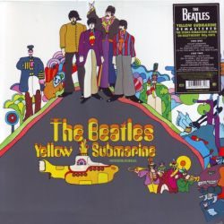 BEATLES, THE - YELLOW SUBMARINE (1 LP) - [2012 REMASTER] - 180 GRAM PRESSING