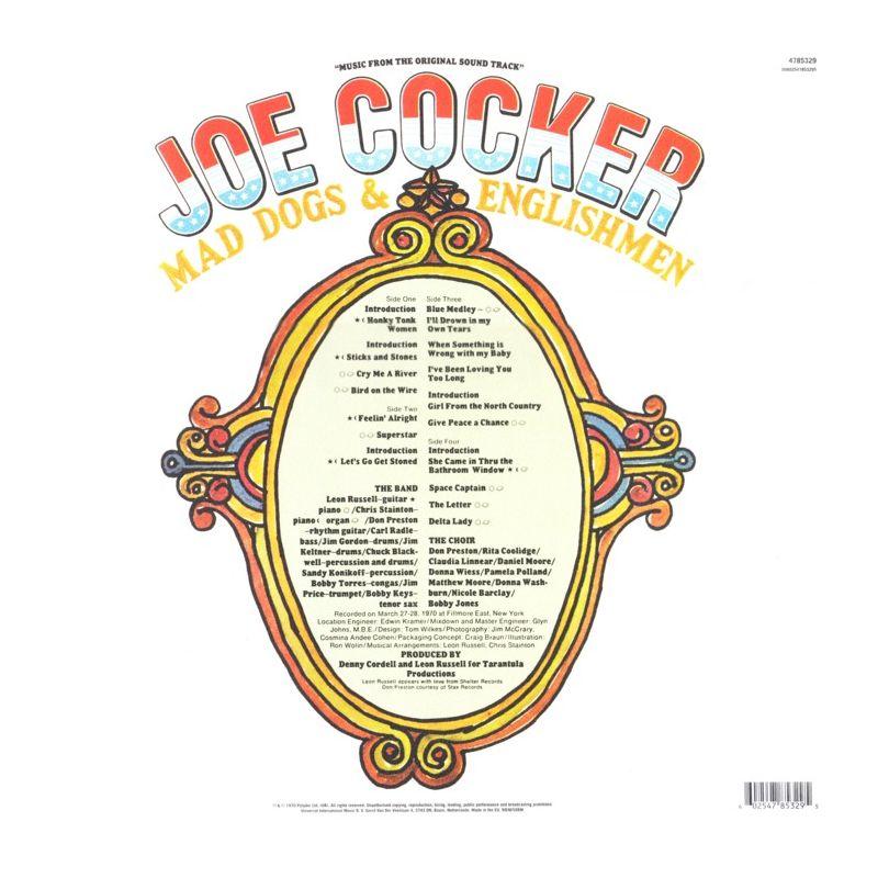 Cocker, Joe - Mad Dogs  Englishmen 2 Lp - Soundtrack -1532