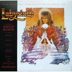 BOWIE, DAVID & TREVOR JONES - LABYRINTH - SOUNDTRACK (1 LP) - WYDANIE AMERYKAŃSKIE