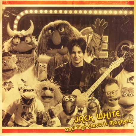 """WHITE, JACK AND THE ELECTRIC MAYHEM (FEAT. THE MUPPETS) - YOU ARE THE SUNSHINE OF MY LIFE (7"""" SINGLE) - WYDANIE AMERYKAŃSKIE"""