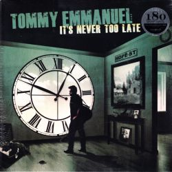 EMMANUEL, TOMMY- IT'S NEVER TOO LATE (1 LP + MP3 DOWNLOAD) - 180 GRAM PRESSING - WYDANIE AMERYKAŃSKIE