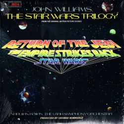STAR WARS TRILOGY, THE - VARUJAN KOJIAN, THE UTAH SYMPHONY ORCHESTRA - JOHN WILLIAMS (1 LP) WYDANIE AMERYKAŃSKIE