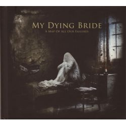 MY DYING BRIDE - A MAP OF ALL OUR FAILURES (CD + DVD) - DIGIBOOK