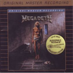 MEGADETH - COUNTDOWN TO EXTINCTION (1 CD) - 24KT GOLD PLATED DISC - MFSL EDITION - WYDANIE AMERYKAŃSKIE