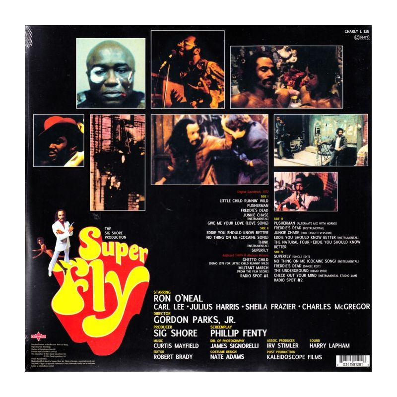 Mayfield Curtis Superfly Super Fly Soundtrack 2 Lp