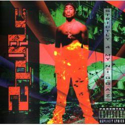 2PAC - STRICTLY 4 MY NIGGAZ (1 CD) - WYDANIE AMERYKAŃSKIE