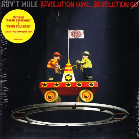 GOV'T MULE - REVOLUTION COME...REVOLUTION GO (2LP) - 180 GRAM PRESSING