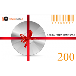 E-KARTA PODARUNKOWA NAJLEPSZAMUZYKA.PL - 200 PLN
