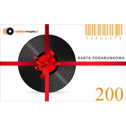 E-GIFT CARD NAJLEPSZAMUZYKA.PL - 200 ZŁ