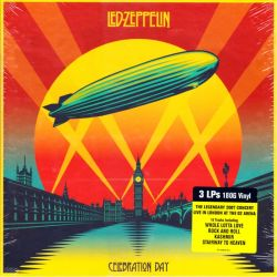 LED ZEPPELIN - CELEBRATION DAY (3 LP) - 180 GRAM PRESSING - WYDANIE AMERYKAŃSKIE