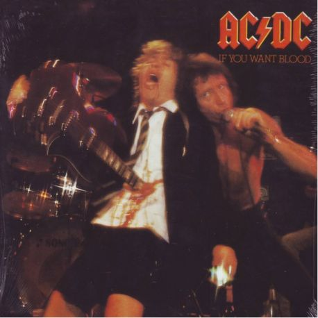 AC/DC - IF YOU WANT BLOOD YOU'VE GOT IT (1 LP) - 180 GRAM PRESSING - WYDANIE AMERYKAŃSKIE