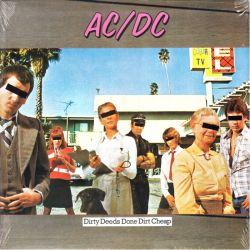 AC/DC - DIRTY DEEDS DONE DIRT CHEAP (1 LP) - WYDANIE AMERYKAŃSKIE