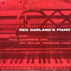 GARLAND, RED WITH PAUL CHAMBERS AND ART TAYLOR - RED GARLAND'S PIANO (1 LP) - WYDANIE AMERYKAŃSKIE