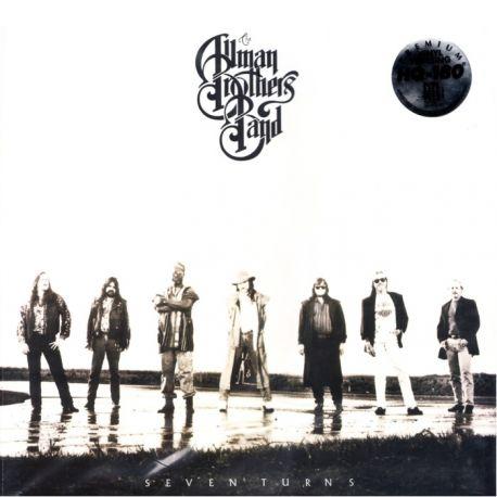 ALLMAN BROTHERS BAND, THE - SEVEN TURNS (1 LP) - 180 GRAM PRESSING - WYDANIE AMERYKAŃSKIE