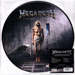 MEGADETH - COUNTDOWN TO EXTINCTION (1 LP) - LIMITED 180 GRAM PICTURE DISC - WYDANIE AMERYKAŃSKIE