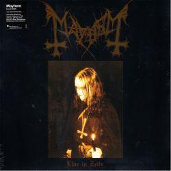 MAYHEM - LIVE IN ZEITZ (1 LP) - 180 GRAM PRESSING