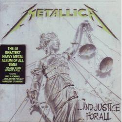 METALLICA - ...AND JUSTICE FOR ALL - WYDANIE AMERYKAŃSKIE