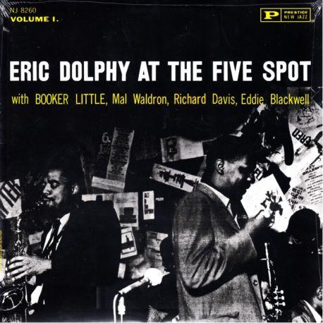 DOLPHY, ERIC - AT THE FIVE SPOT, VOLUME 1 (1 LP) - WYDANIE AMERYKAŃSKIE