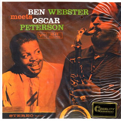 WEBSTER, BEN - MEETS OSCAR PETERSON (2 LP) - 45RPM - ANALOGUE PRODUCTIONS EDITION - 200 GRAM PRESSING - WYDANIE AMERYKAŃSKIE