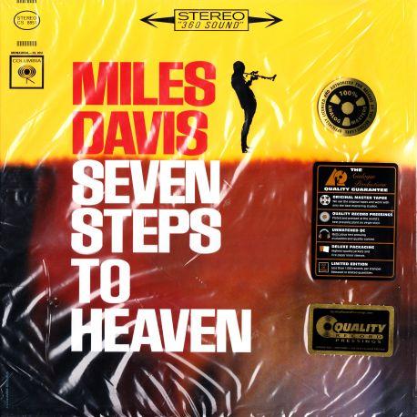 DAVIS, MILES - SEVEN STEPS TO HEAVEN (1 LP) - ANALOGUE PRODUCTIONS EDITION - 200 GRAM PRESSING - WYDANIE AMERYKAŃSKIE