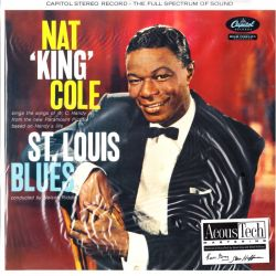 "COLE, NAT ""KING"" - ST. LOUIS BLUES (2 LP) - 45RPM - ANALOGUE PRODUCTIONS EDITION - 180 GRAM PRESSING - WYDANIE AMERYKAŃSKIE"