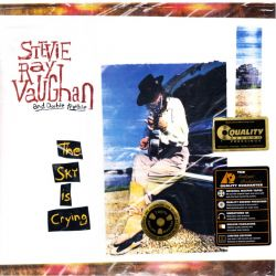 VAUGHAN, STEVIE RAY - THE SKY IS CRYING (2 LP) - 45RPM - ANALOGUE PRODUCTIONS EDITION - 200 GRAM PRESSING - WYDANIE AMERYKAŃSKIE