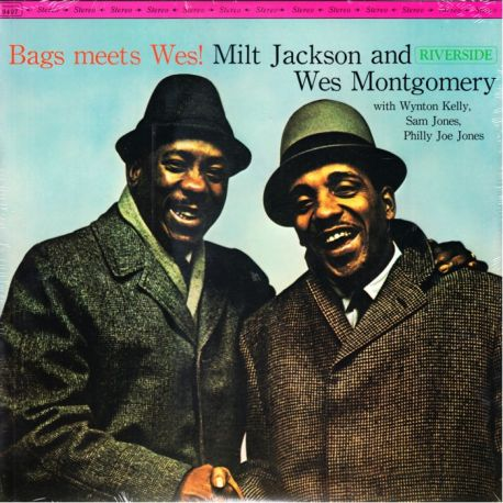 JACKSON, MILT AND MONTGOMERY, WES - BAGS MEETS WES! (1LP)