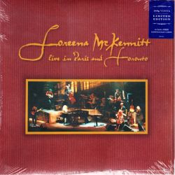 MCKENNITT, LOREENA - LIVE IN PARIS AND TORONTO (3 LP) - LIMITED EDUTION - 180 GRAM PRESSING