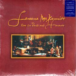 MCKENNITT, LOREENA - LIVE IN PARIS AND TORONTO (3 LP) - LIMITED EDITION - 180 GRAM PRESSING