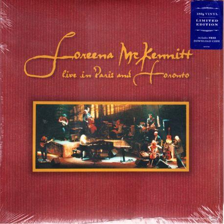 MCKENNITT, LOREENA - LIVE IN PARIS AND TORONTO (3 LP) - LIMITED EDUTION - 180 GRAM PRESSING