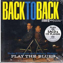 ELLINGTON, DUKE & JOHNNY HODGES - BACK TO BACK (1 SACD) - ANALOGUE PRODUCTIONS - WYDANIE AMERYKAŃSKIE