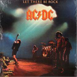 AC/DC - LET THERE BE ROCK (1 LP) - 180 GRAM PRESSING - WYDANIE AMERYKAŃSKIE