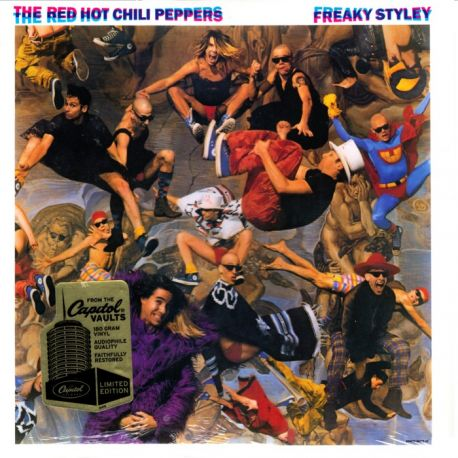 RED HOT CHILI PEPPERS - FREAKY STYLEY (1LP) - 180 GRAM PRESSING