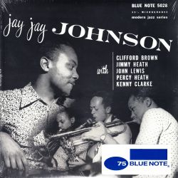 "JOHNSON, JAY JAY SEXTET - JAY JAY JOHNSON (10"" EP) - MONO - WYDANIE AMERYKAŃSKIE"