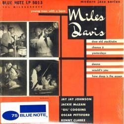 """DAVIS, MILES - YOUNG MAN WITH A HORN (10"""" EP) - MONO - WYDANIE AMERYKAŃSKIE"""