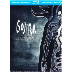 GOJIRA - THE FLESH ALIVE (1 BLU-RAY + CD) - LIMITED EDITION: DELUXE VERSION