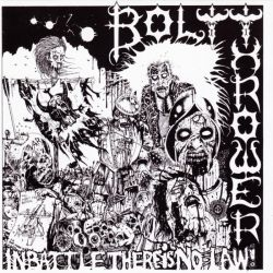 BOLT THROWER - IN BATTLE THERE IS NO LAW (1 LP) - 180 GRAM VINYL PRESSING