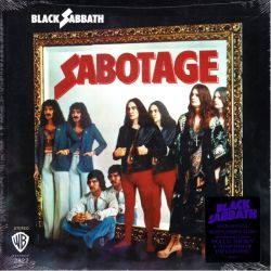 BLACK SABBATH - SABOTAGE (1LP) - RHINO VINYL EDITION - 180 GRAM PRESSING