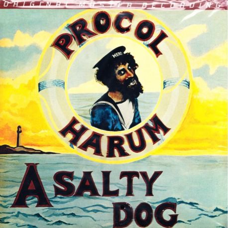 PROCOL HARUM - A SALTY DOG (1 LP) - LIMITED NUMBERED MFSL EDITION - 180 GRAM PRESSING - WYDANIE AMERYKAŃSKIE